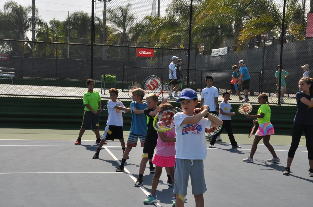 kids tennis lessons - after school tennis program