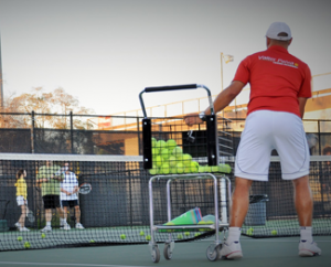 group tennis lessons near me